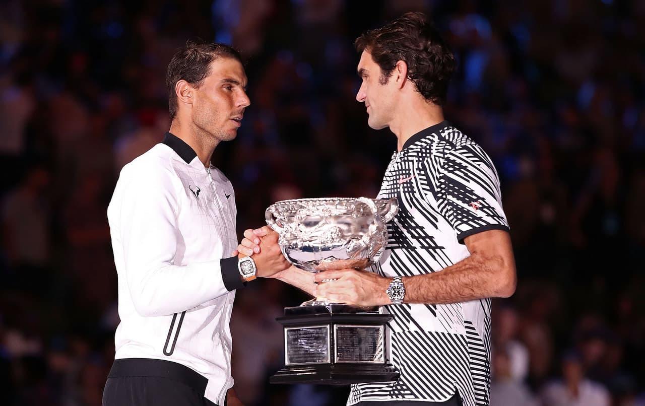 Федерер и Надаль на Australian Open
