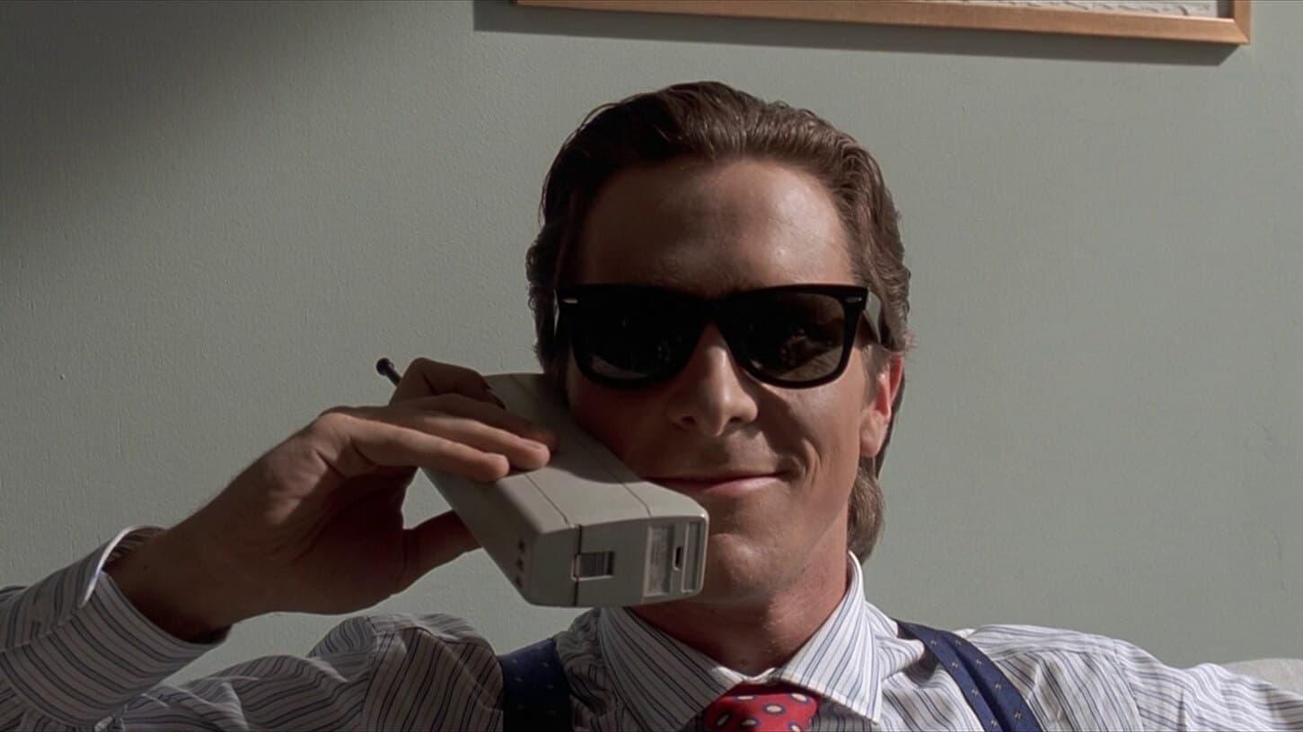 american psycho big phone