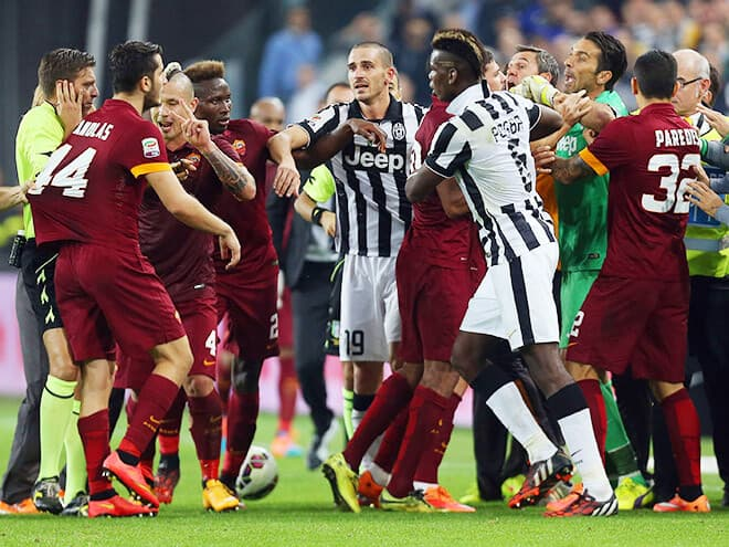 Ювентус – Рома. Прогноз и ставки на матч Серии А. 23 декабря 2017