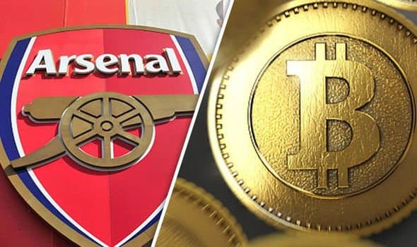«Арсенал» стал первым футбольным клубом, который будет сотрудничать с криптовалютой
