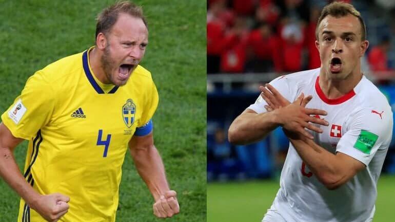 Швеция – Швейцария. Мнение и коэффициенты букмекеров