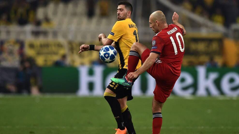 «Бавария» - АЕК Афины. Прогноз и ставки на матч Лиги чемпионов. 7 ноября 2018