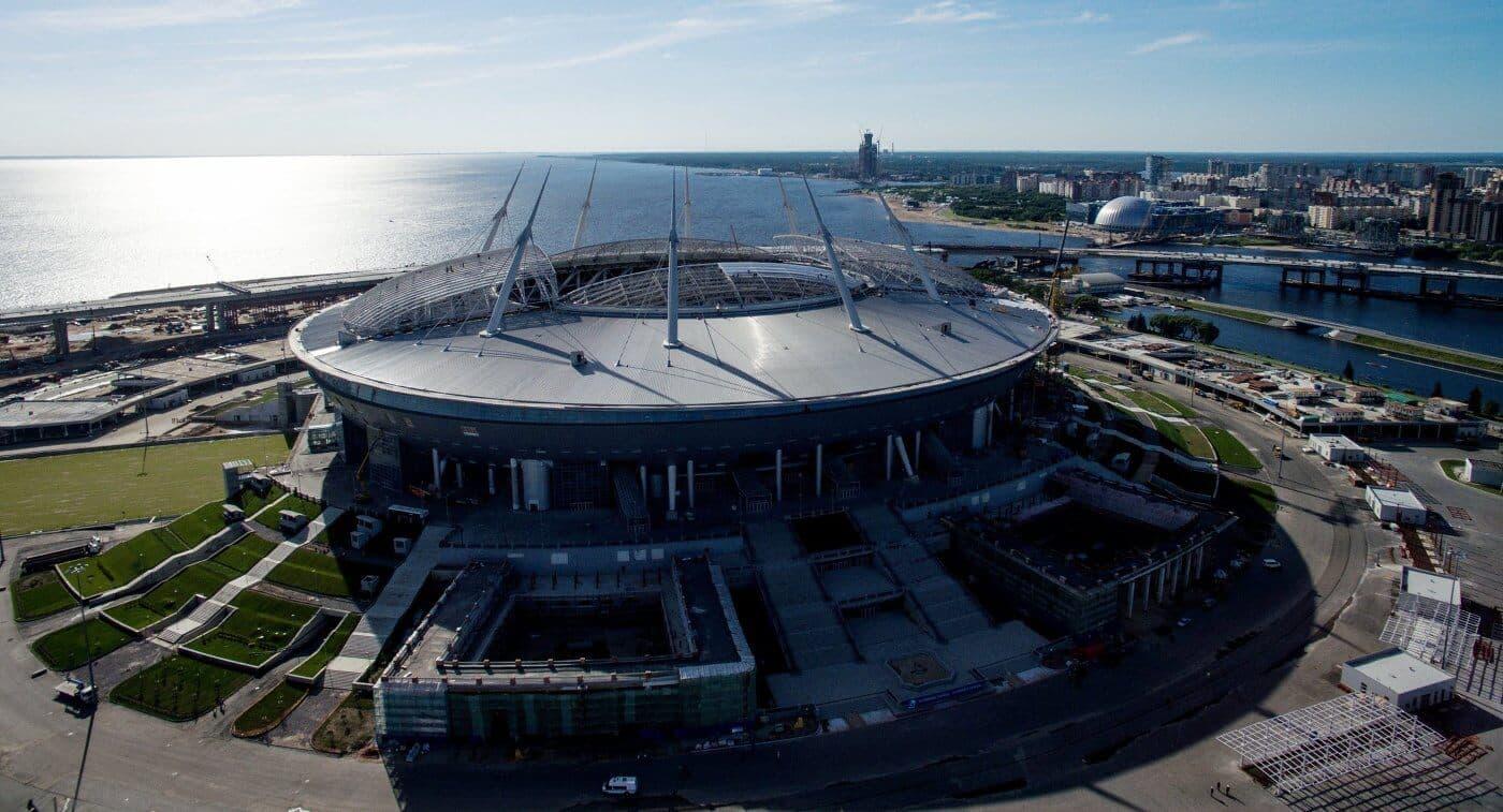 Букмекеры считают, что у Санкт-Петербурга большие шансы принять финал Лиги Чемпионов