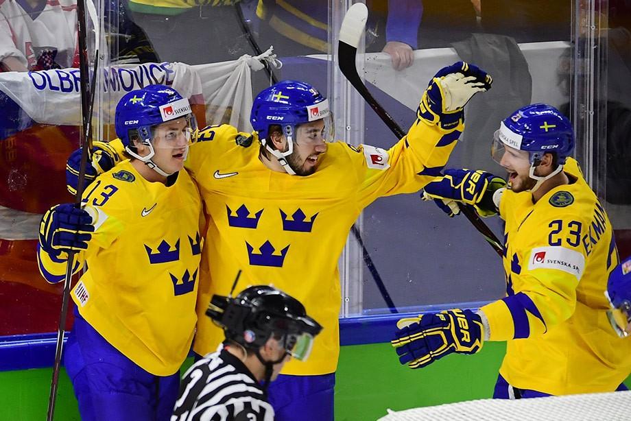 Швеция — Австрия. Прогноз и ставки на матч ЧМ по хоккею, 16 мая 2019