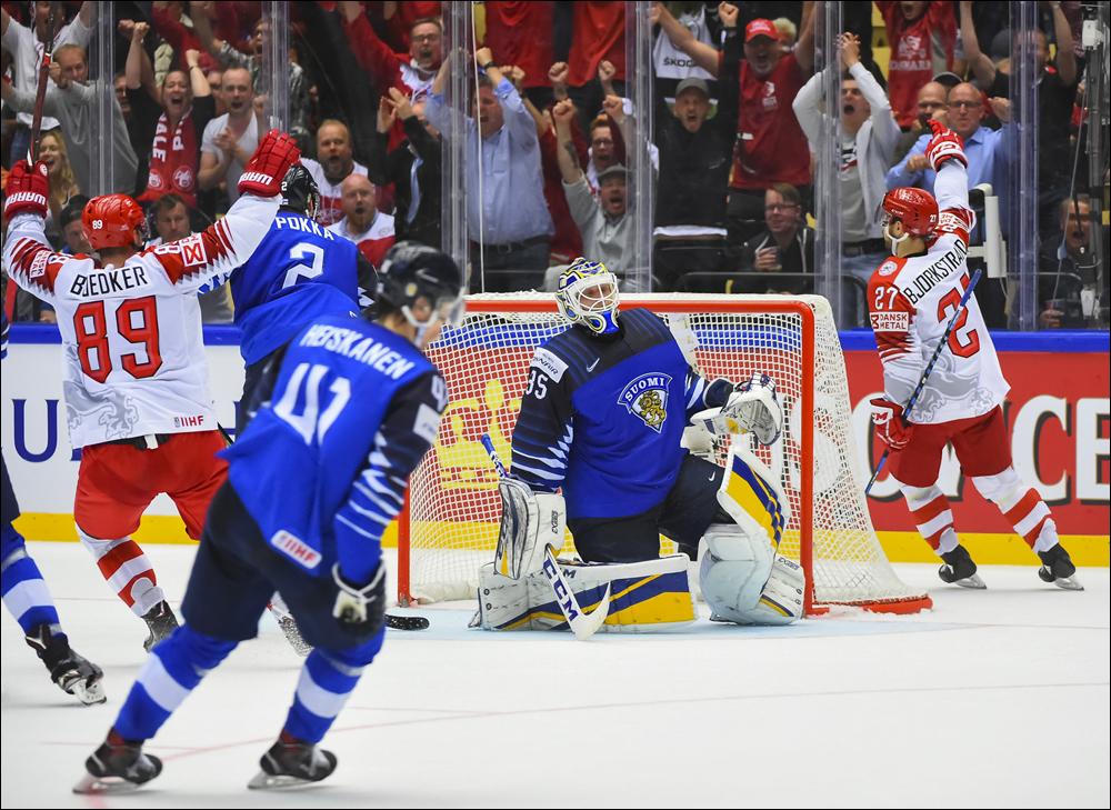 Финляндия — Дания. Прогноз и ставки на матч ЧМ по хоккей, 16 мая 2019
