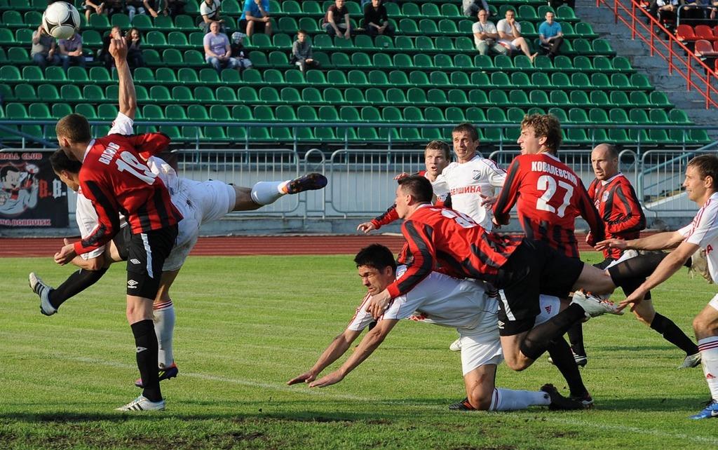 Чемпионат Беларуси. Высшая лига в Экспрессе дня на 15 июня 2019