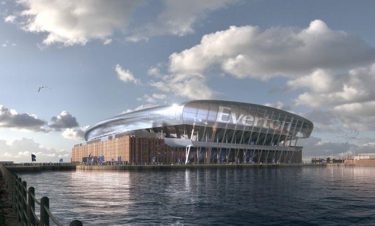 """""""Эвертон"""" продемонстрировал проект нового 52-тысячного стадиона, стоимостью в 500 млн фунтов"""