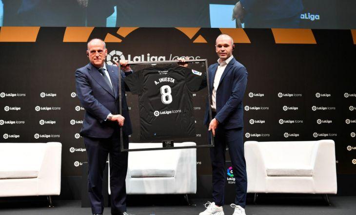 Андреас Иньеста стал послом Ла Лиги