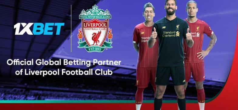 БК 1xBet заключила партнерское соглашение с «Ливерпулем»