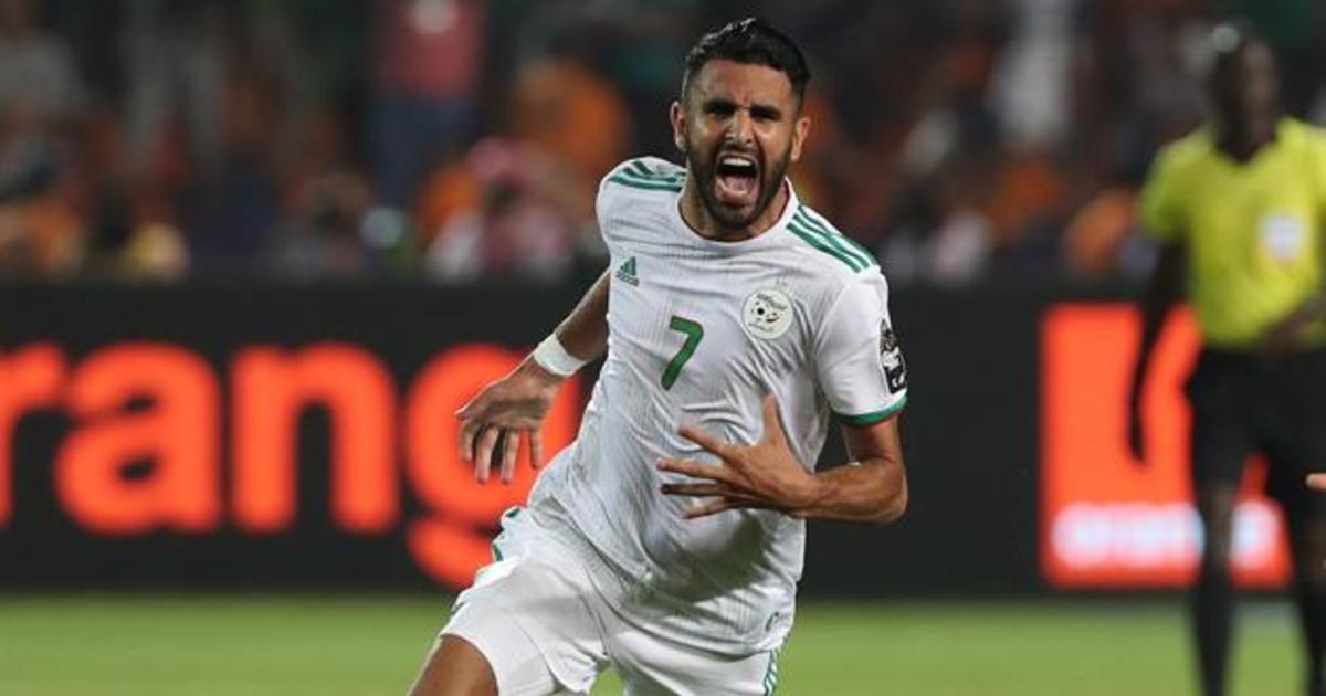 Марез вывод Алжир в финал Кубка Африканских наций