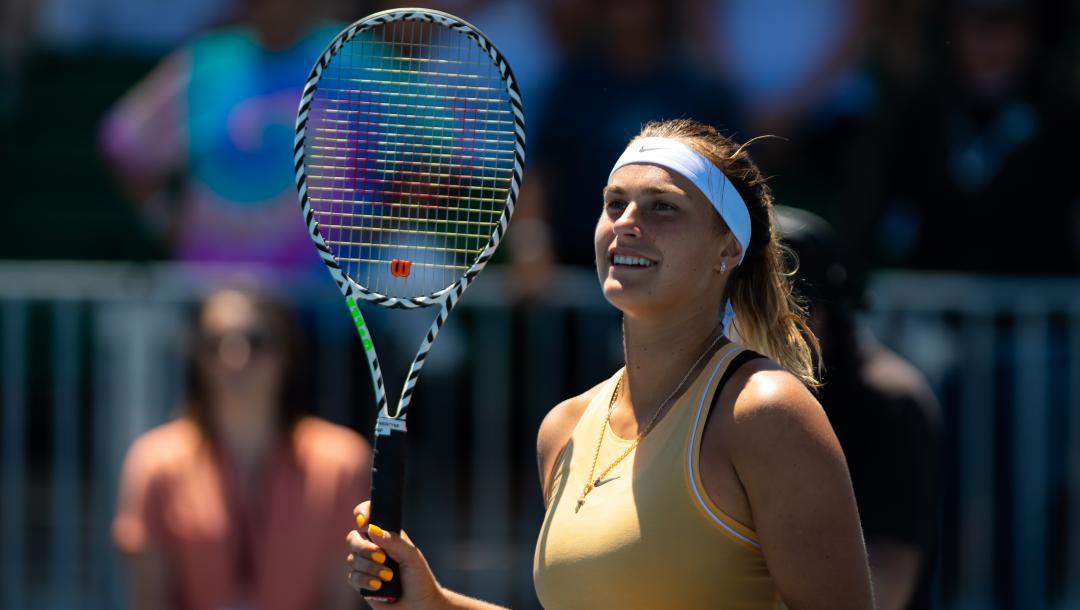 Арина Соболенко – Мария Саккари. Прогноз и ставки на теннис. 15 августа 2019 года
