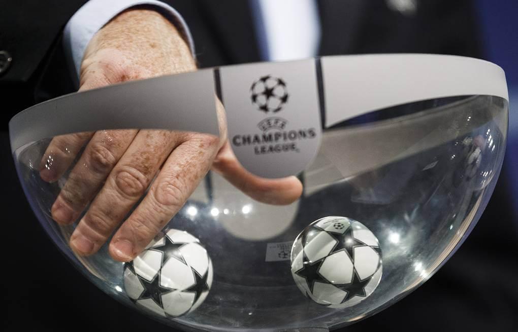 Состоялась жеребьёвка раунда плей-офф Лиги чемпионов