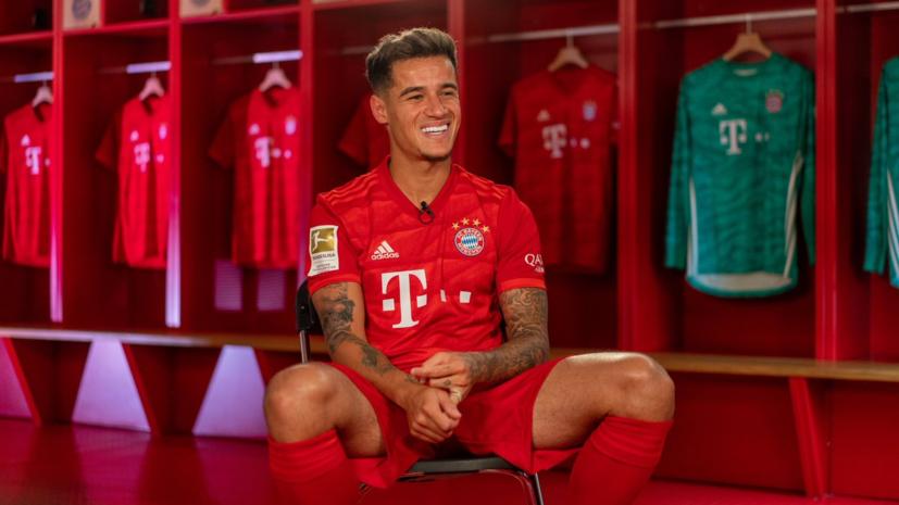 """Коутиньо: """"Надеюсь, я надолго в """"Баварии"""" и выиграю с клубом много трофеев"""""""