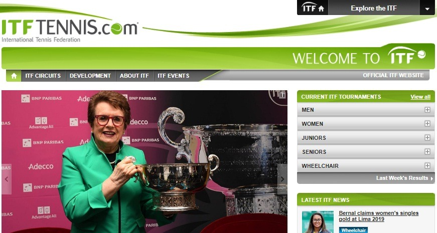 itf tennis com