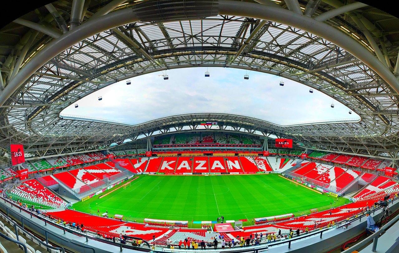 БК Париматч принимает ставки на то, что Суперкубок УЕФА 2022 или 2023 пройдет в Казани