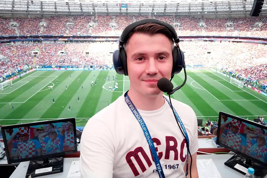 Стогниенко: штат Оkkо Спорт позволяет комментировать матчи на высочайшем уровне