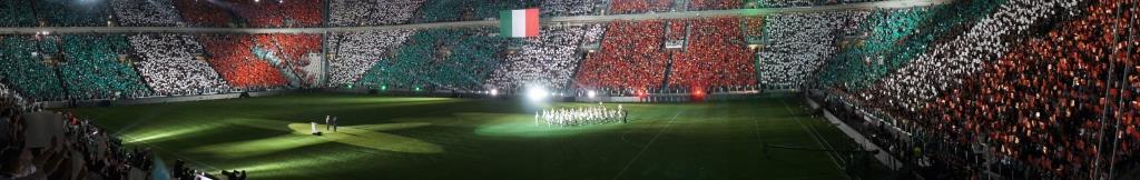 Juventus Stadium inauguration italy