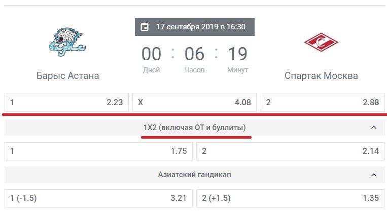 barys astana vs spartak moskva hockey bk leon