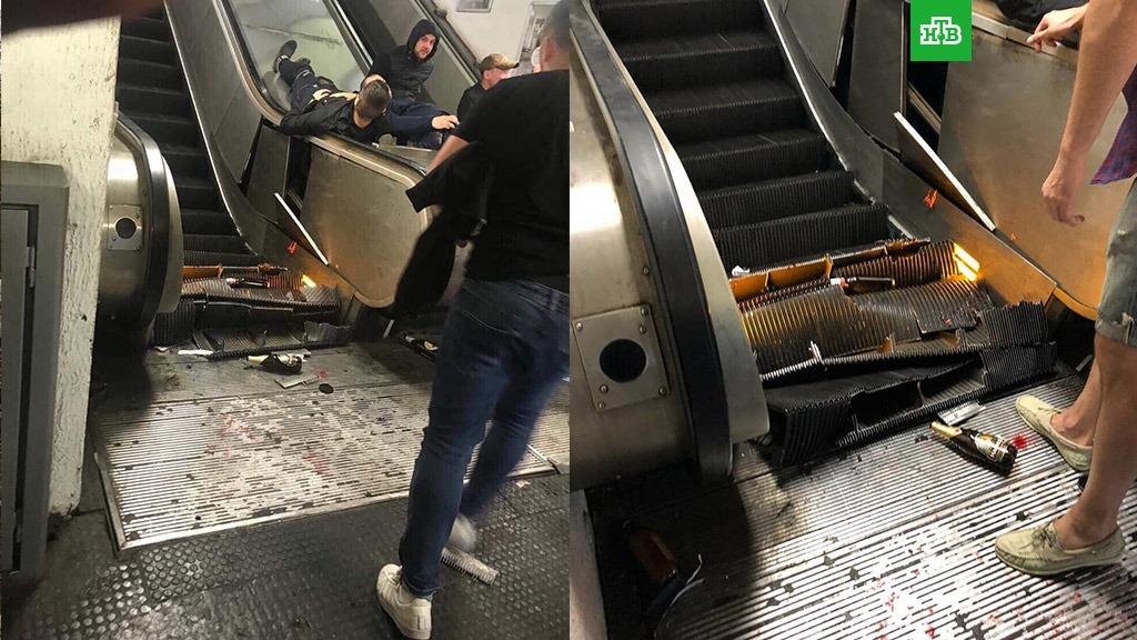 Прокуратура Рима обвинила 4 человек в рамках дела об обрушении эскалатора с болельщиками ЦСКА