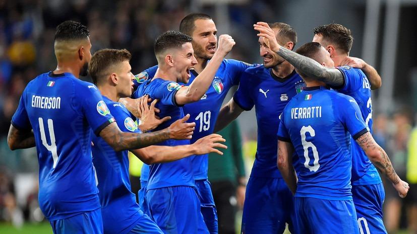 Италия выиграла все 5 матчей в отборе к Евро с общим счетом 16:2