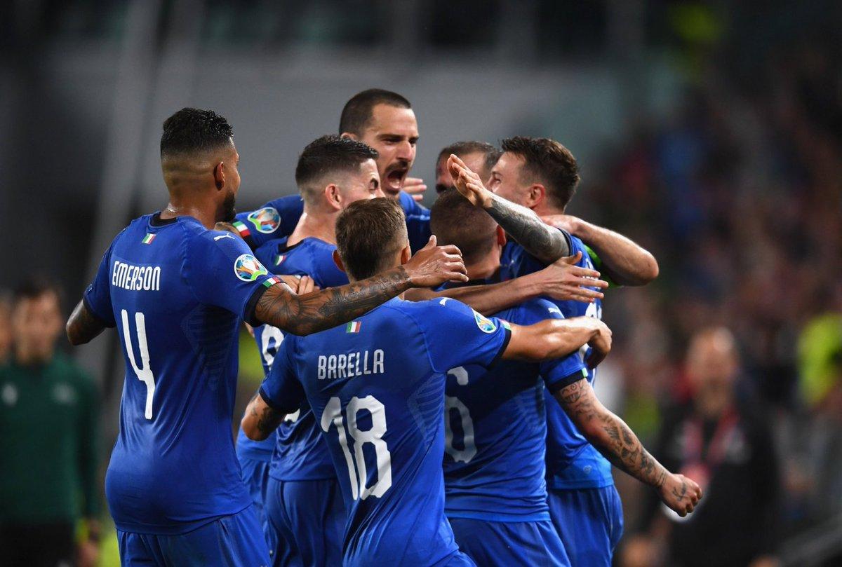Италия не проигрывает в квалификациях на Евро 13 лет. Это рекорд