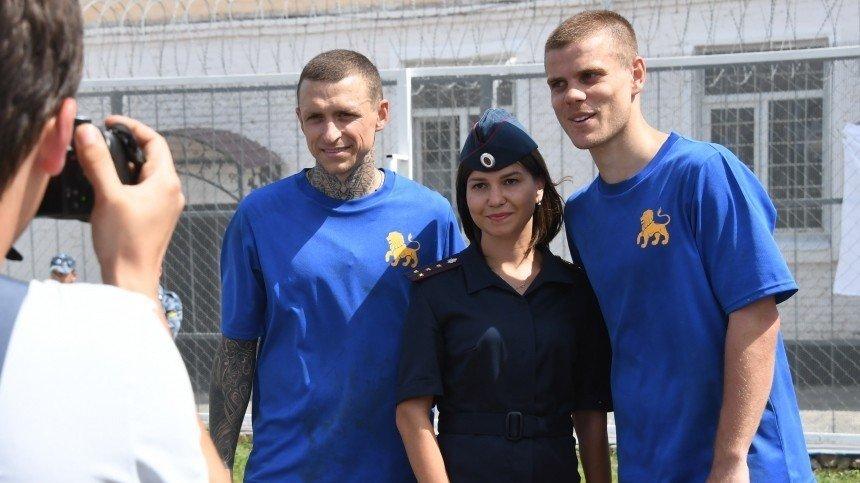 Кокорин и Мамаев освобождены по УДО