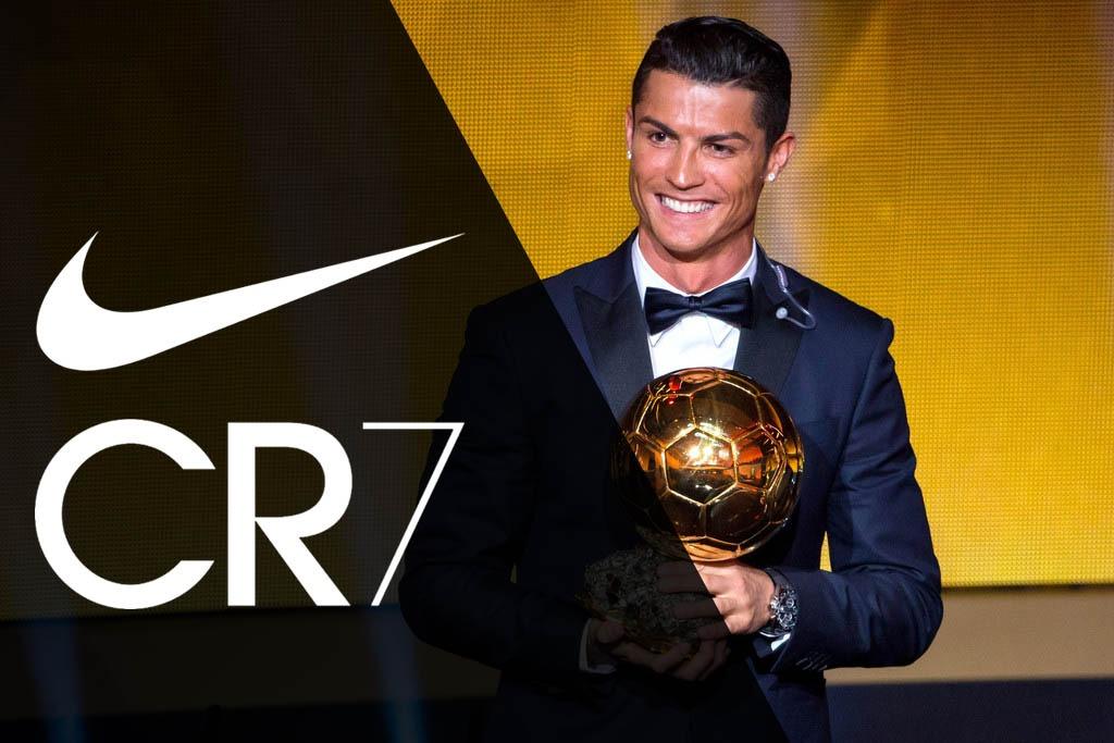 Роналду заработает 162 млн евро до 2026 года по контракту с Nike