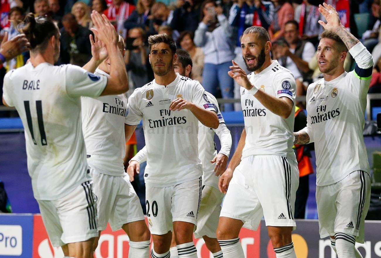 Ставки на матчи ФК Реал Мадрид