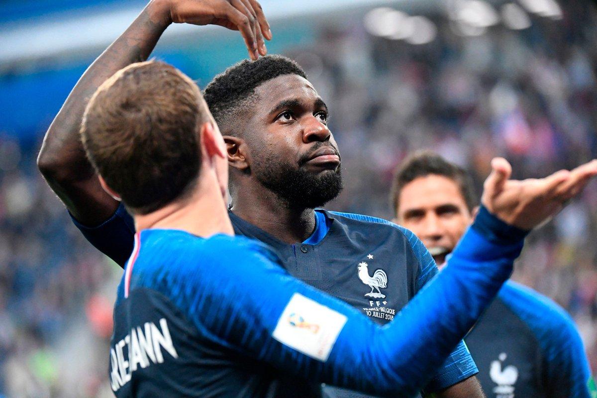 Умтити из-за травмы покинул расположение сборной Франции