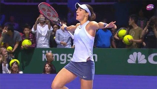 Каролин Гарсия – Анастасия Потапова. Прогноз и ставки на теннис. 7 октября 2019 года