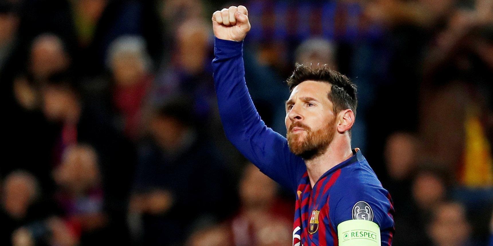 Bukmekery prinimayut stavki na goly Messi v Primere 1
