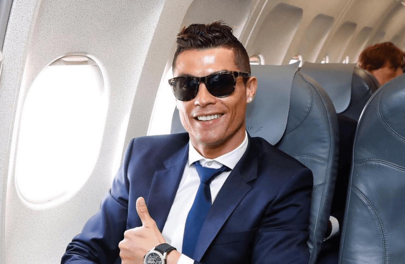 В 2018 году Роналду заработал на рекламе в Instagram более 44 миллионов евро