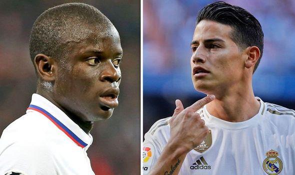 «Челси» и «Реал» хотят совершить обмен Канте на Родригеса