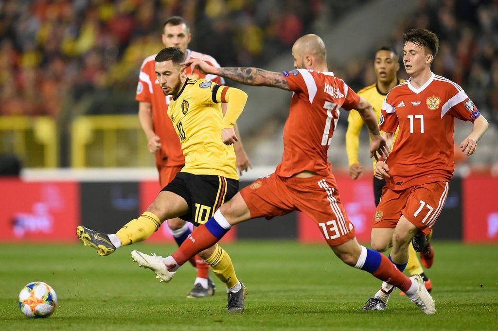 Россия – Бельгия. Прогноз и ставки на отборочный матч Евро-2020. 16 ноября 2019