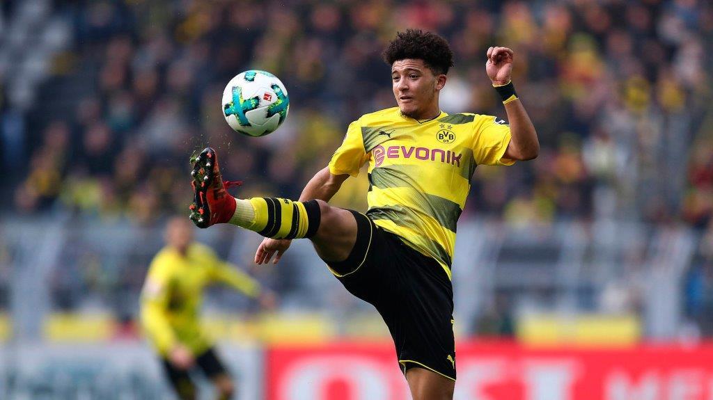 Dzhejdon Sancho Borussiya Dortmund