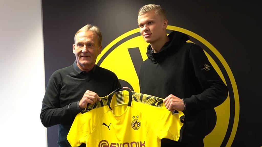 Erling Holand borussiya Dortmund