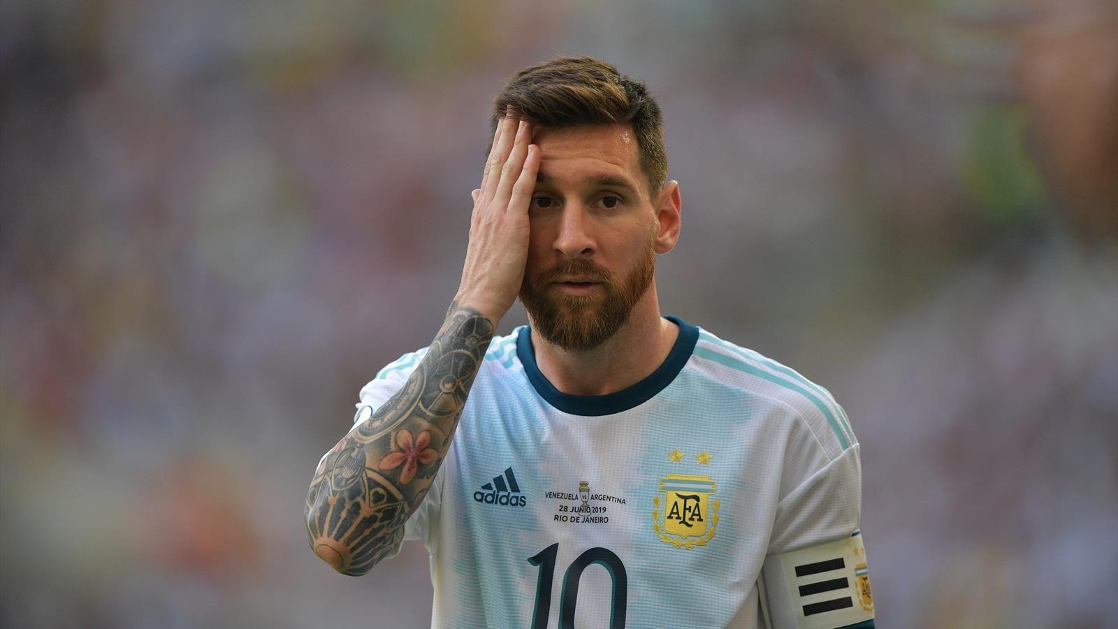 lieonel messi argentina kubok ameriki 2020