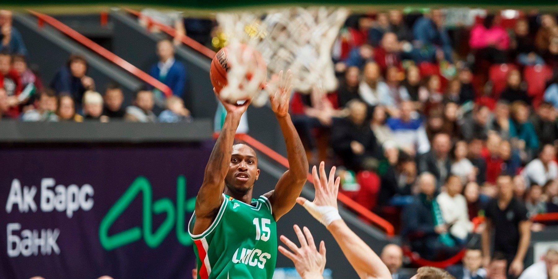 Erik Makkollum UNIKS Edinaya Liga VTB Basketbol