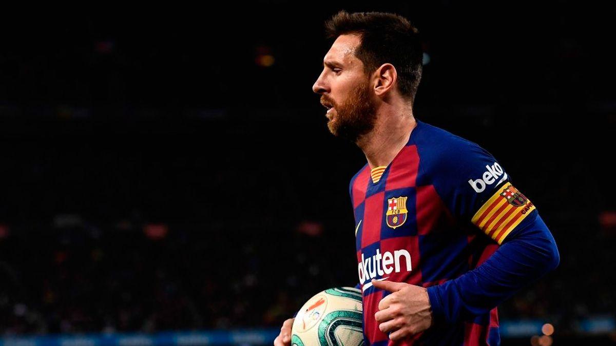 Lionel Messi Barselona