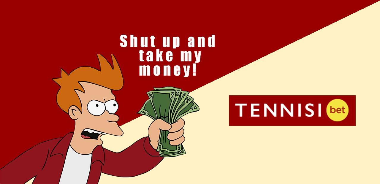 Бонусы и акции Тенниси