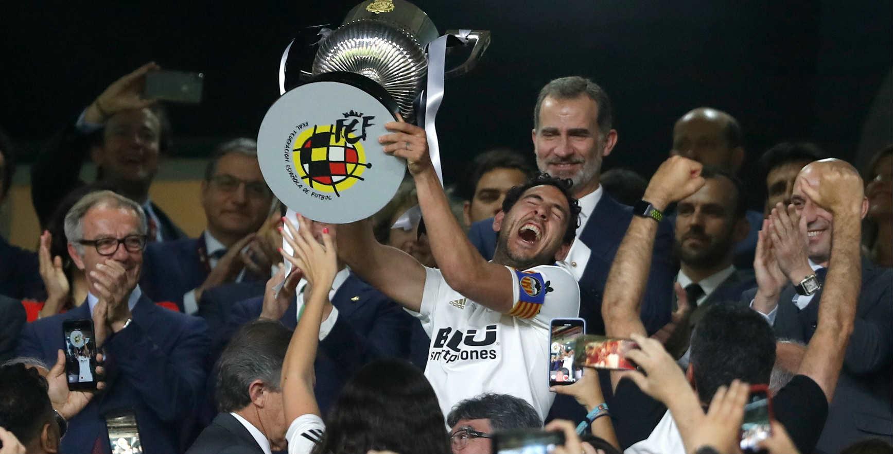 Valensiya vyigrala Kubok Ispanii po futbolu