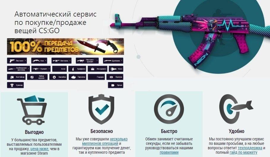 pokupka prodazha skinov cherez storonnie sajty ks go