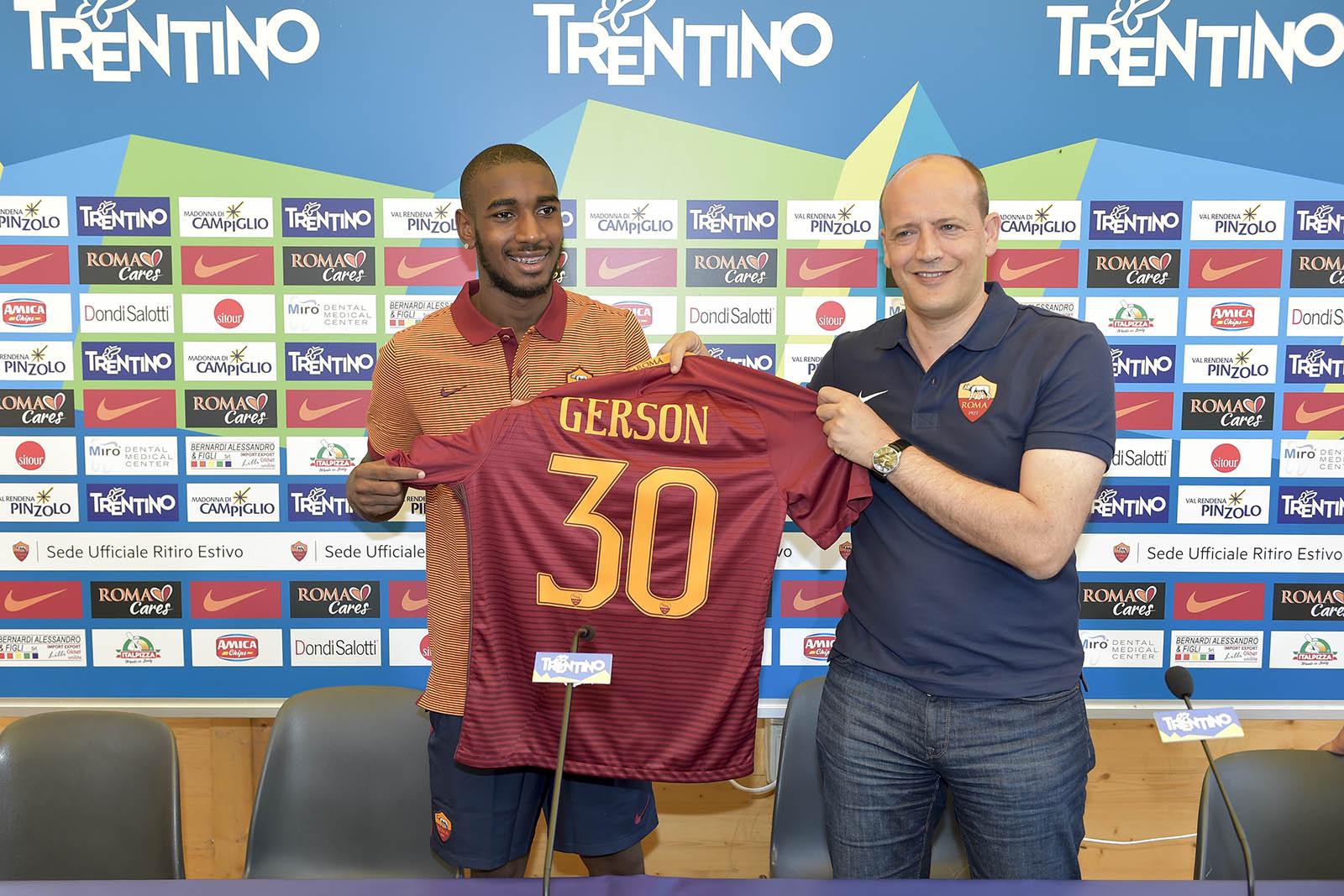 Отец Жерсона рассказал о желании сына поиграть в Арсенале