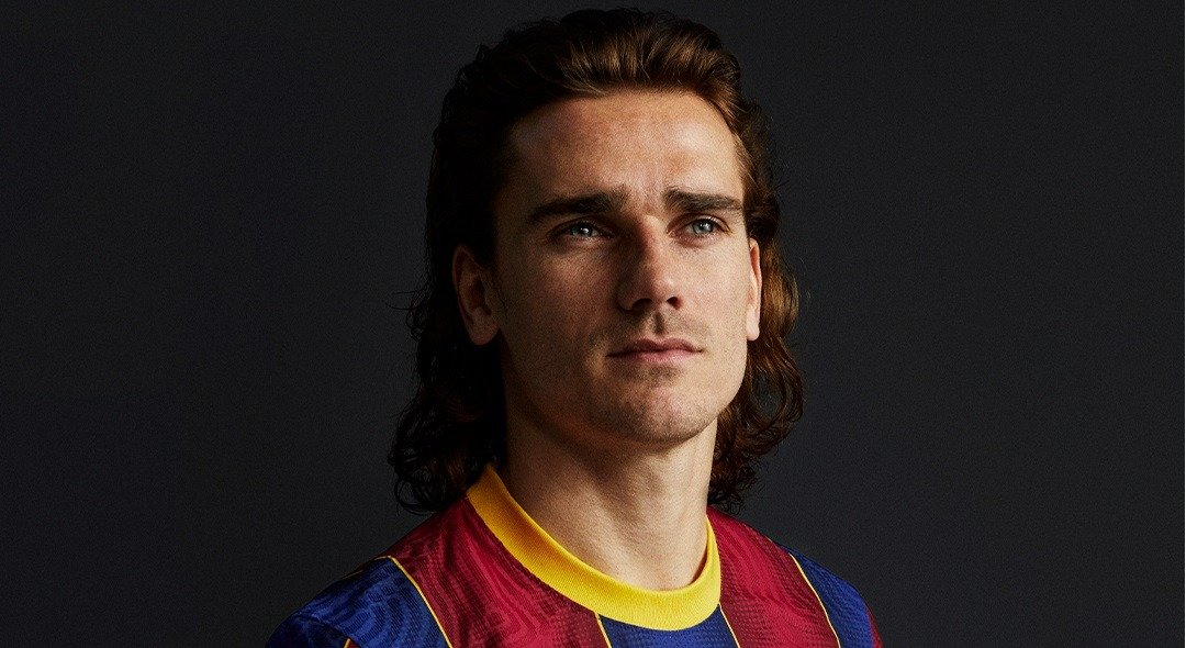 Antoine Griezmann barca new kit