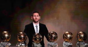 Lionel Messi Zolotoj myach 2020