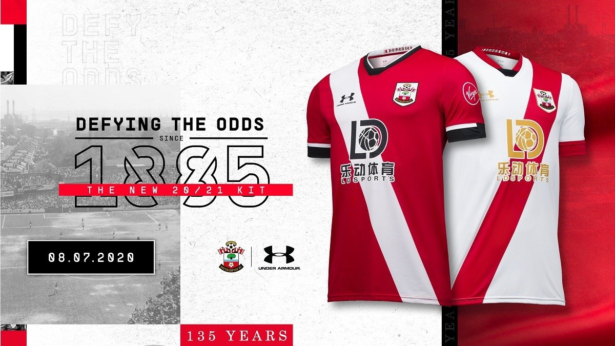 Southampton new shirt