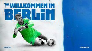 Alexander Schwolow Hertha
