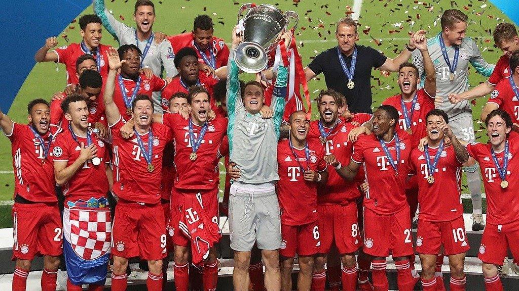 Bayern Munich 2020 cl winner