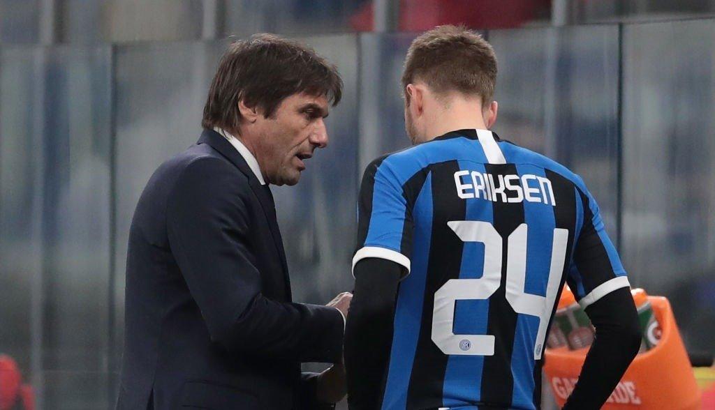 Кристиан Эриксен подаст прошение о трансфере в январе. «Интер» хочет за датчанина 30 млн. евро