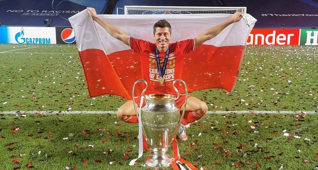 lewandowski CL cup